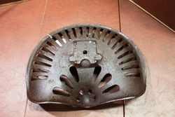 Antique Walter A Wood Cast Iron Tractor Seat