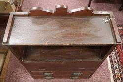 Antique Yates Seeds Shop Counter Cabinet