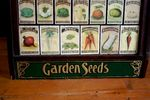 Antique Yates Seeds Shop Counter Cabinet Arriving Nov