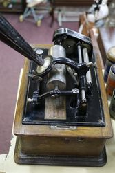 Antique edison 4 Min Standard Phonograph With 10 Cylinders