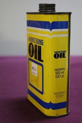 Armstrong 500 ml Oil Tin