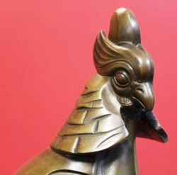 Art Deco Bronze Pheasant