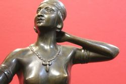 Art Deco Bronze by H Fugere