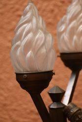 Art Deco Dutch Boy Lamp C1930
