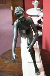 Art Deco Figure Signed andquotMousinandquot