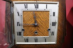 Art Deco GM Clock 8 Day 14 Hour Movement