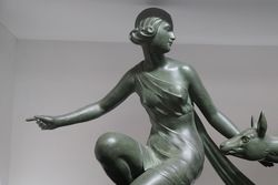 Art Deco Spelter Group C1930