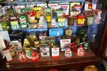 Assorted Genuine Automobilia Oil And Grease Cans ---