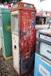 Aster Dux In Esso Livery Petrol Pump For Restoration