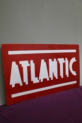 Atlantic  Double Sided Enamel Advertising sign