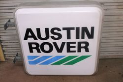 Austin Rover Advertising Light Box