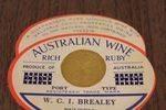 Australian Wine Ad Card
