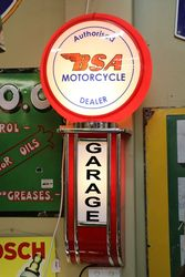 Authorised BSA Motorcycles Dealer Garage Lightbox