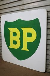BP Enamel Advertising Sign