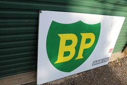 BP Gas Oil  Enamel Advertising Sign