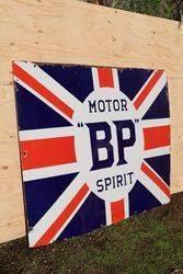 BP Motor Spirit Enamel Advertising Sign