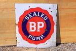 BP Sealed Pump Enamel Sign