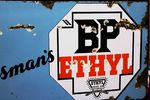 BP Sportsmans Ethyl Enamel Sign