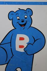 BUTAGAS Pictorial  Bear Alloy Sign