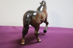 Beswick Stocky Jogging Brown Mare