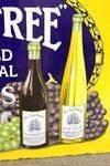 Big Tree Wines Pictorial Advertising Enamel Sign
