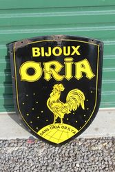 Bijoux Oria Double Sided Enamel Sign