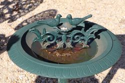 Bird Bath In Cast Iron