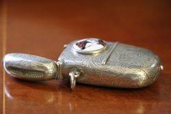 Birmingham Silver 1891 Rare Vesta Sovereign Case