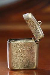 Birmingham Silver 1914 Vesta
