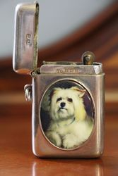 Birmingham Silver 1917 Vesta Cigarette Lighter