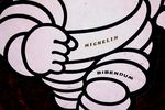 Board Cut out Michelin Bibendum Advertising Sign