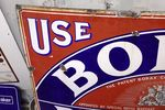Borax Dry Soap Enamel Sign