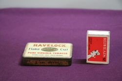 BritishAustralasian Tobacco Havelock FLake Cut Tin