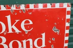 Broke Bond Tea Enamel Advertising Sign