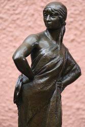 Bronze Gypsy By Delaplanche