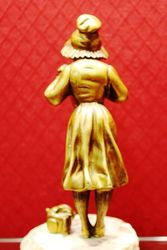 Bronze and Ivory Figure of a Child