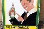 Burma Sauce Enamel Sign