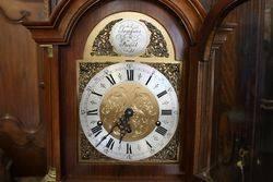 Burr Walnut Grandmother Clock