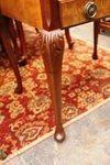 Burr Walnut Sewing Table