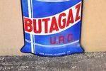 Butagaz Double Sided Die Cut Enamel Sign