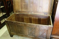 C20th Oak Coffer