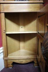 C20th Open Shelf Corner Cabinet