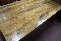 C20th Solid Plank Farmhouse Kitchen Table
