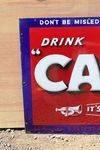 Camp Coffee Enamel Advertising Sign