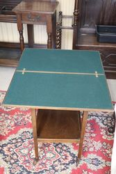 Card Game  Tea Table