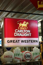Carlton Draught Great Western Light Box