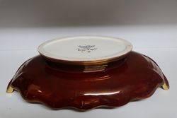 Carlton Ware Handpainted Rouge Royale Bowl