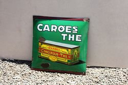 Caroes The Convex Enamel Sign