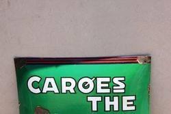 Caroes The Convex Enamel Sign