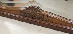 Carved French Mirror